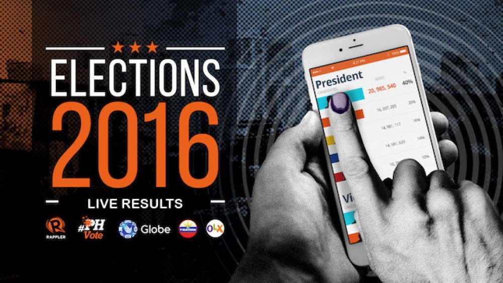 #PHVOTE 2016 Live Results