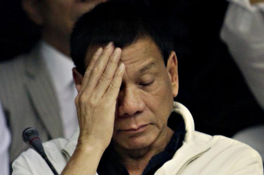 Duterte's defeatism on China = lack of patriotism