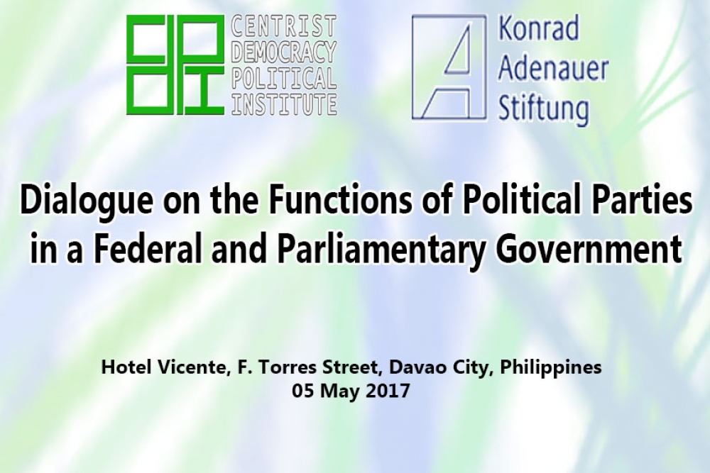 Functions of Political Parties in a Federal Form of Government