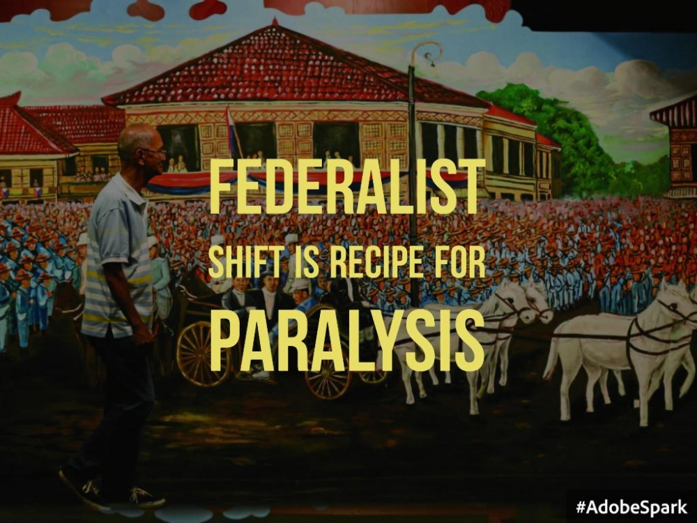 Federalist shift is recipe for paralysis