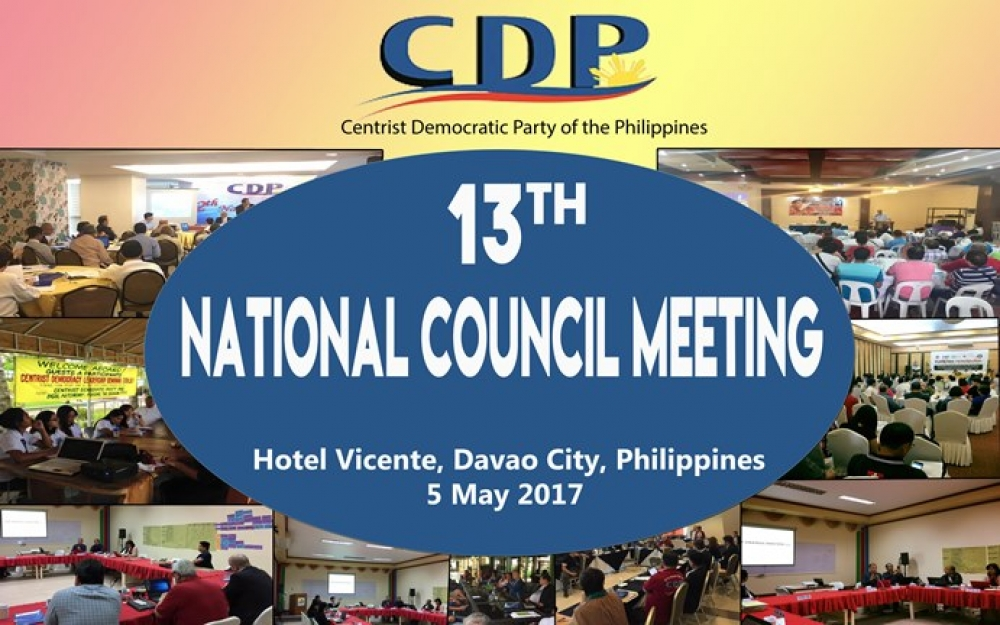CDP holds its 13th National Council Meeting