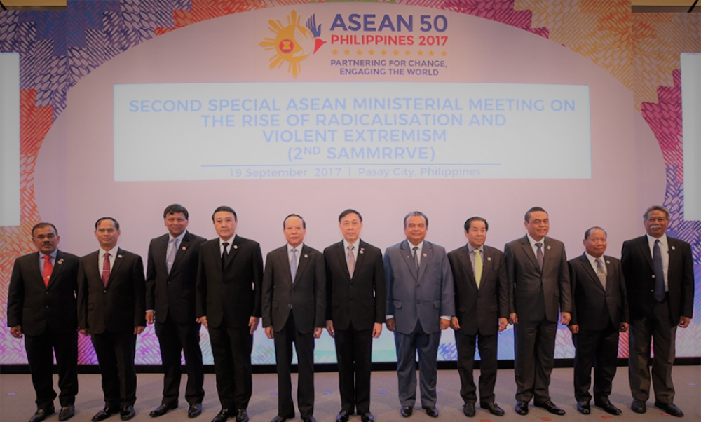 ASEAN Radicalisation, violent extremism top agenda of ASEAN ministers' meet