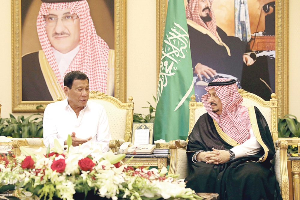 Duterte visit: PH-Saudi labor deals on agenda