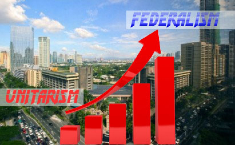 A VIEW FROM THE CENTER: Federalism trumps unitarism economically