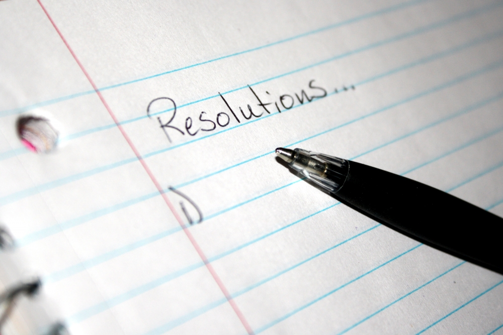 My New Year's resolutions, atbp