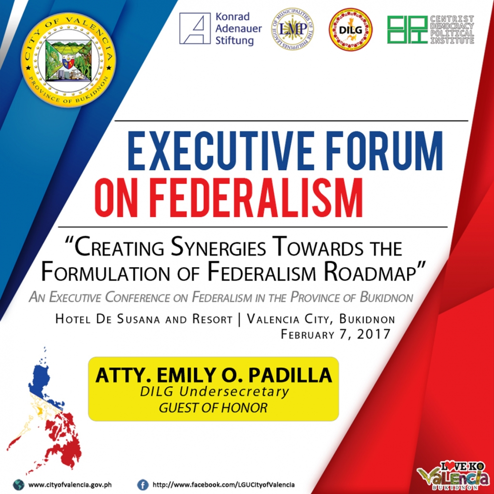 Centrist Democrats and DILG on the Roadmap to Federalism