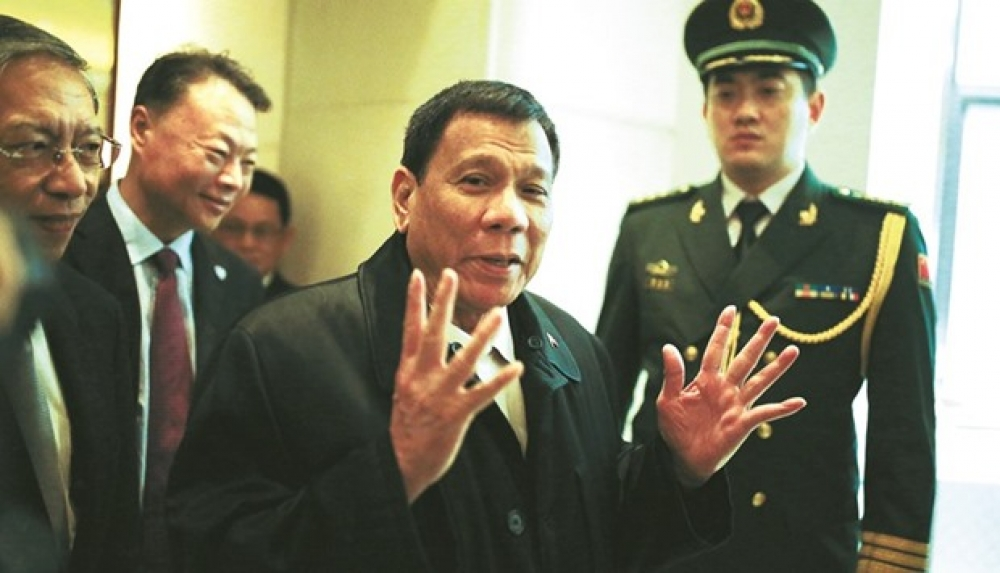 Duterte being held hostage by Beijing?